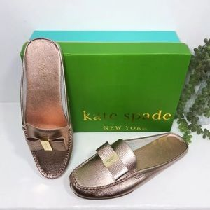 Kate Spade NY Marsha Mule Leather Loafer Shoes